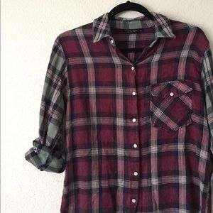 Topshop Flannel